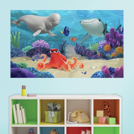 RoomMates Finding Dory Peel and Stick Mural