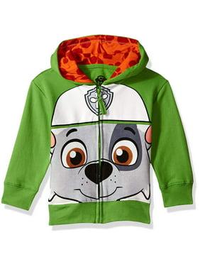 Paw Patrol Toddler Boy Big Face Zip-Up Hoodie Sweatshirt