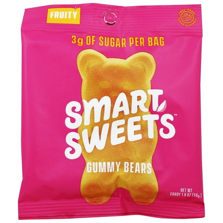 Smart Sweets Fruity Gummy Bears, 1.8 oz - - Hasbro Gummy Bears