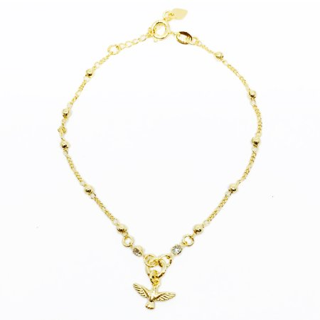 18k Gold Plated Dove Denary Bracelet Designer Bracelets For Women By Kaneesha