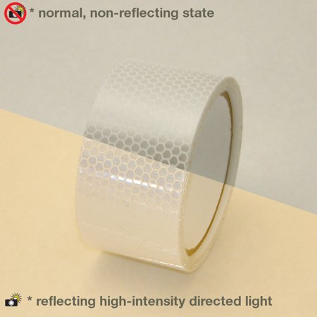 Oralite (Reflexite) 5900 HIP Prismatic-Grade Reflective Tape: 2 in. x 15 ft.