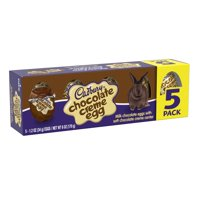 Cadbury, Easter Chocolate Creme Egg Candy, 5 Count