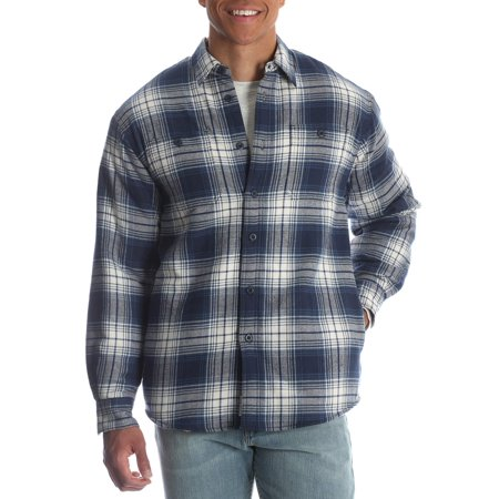 Autumn Flannel Autumn Flannel - Men's Sherpa Lined Flannel Shirt