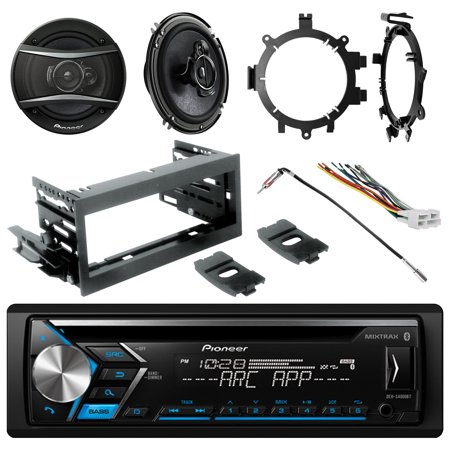 Pioneer DEHS4000BT Single-DIN CD USB AUX Bluetooth Stereo, 2x 6.5