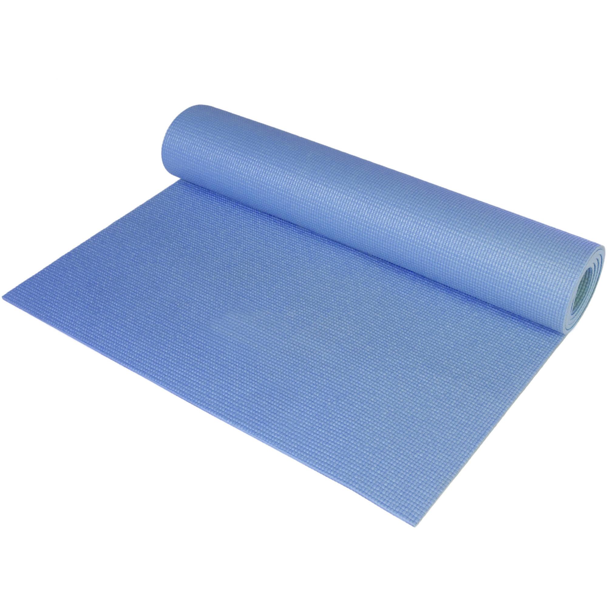 CAP Fitness Yoga Mat, 3 mm, Blue