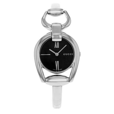 d2a3cdf00ad Gucci - Horsebit YA139503 Stainless Steel Quartz Ladies Watch ...