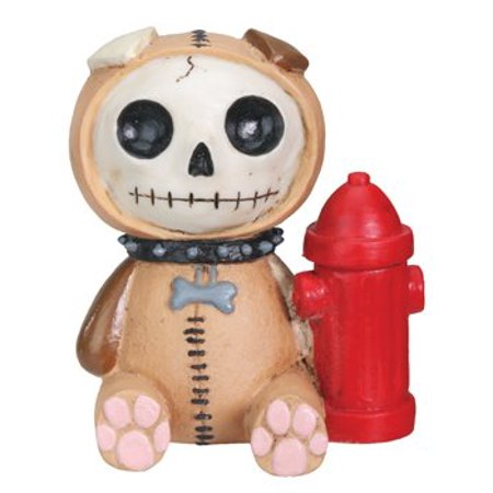 Furrybones Rocky Skeleton in Puppy Dog Costume with Fire Hydrant Figurine New](Puppy Skeleton)