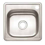 """Stainless Steel Sink - 15"""""""