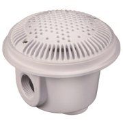 Hayward Pool Products WG1054AVPAK2 8 In. Suction Outlet For Concrete Pools - White