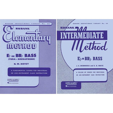 - Rubank Elementary Method and Rubank Intermediate Method - Bass/Tuba, 2 Book Set, RBK TUBA 2 BK SET