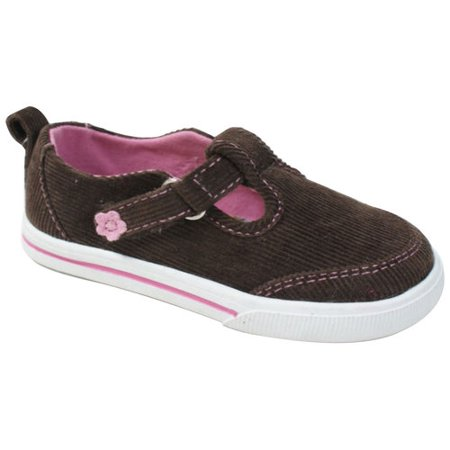 f916dbf633a109 Faded Glory - Baby Girl s Corduroy Casual Shoes