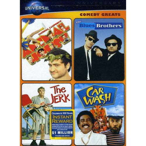 Comedy Greats Spotlight Collection: National Lampoon's Animal House / The Blues Brothers / The Jerk / Car Wash (Anamorphic Widescreen)