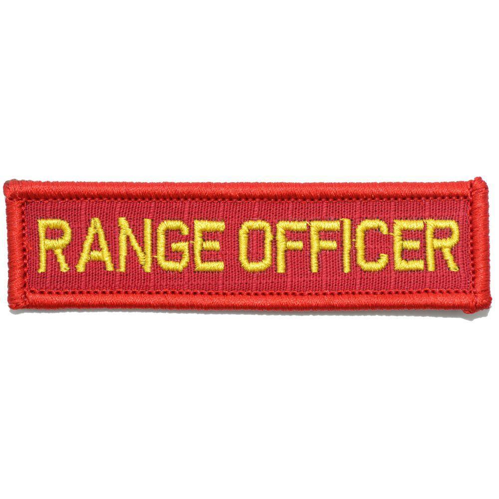 Range Officer - 1x3.75 Patch