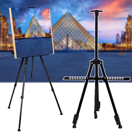 folding art tabletop field painting tripod easel display stand black