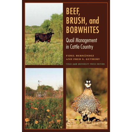 Beef, Brush, and Bobwhites : Quail Management in Cattle Country