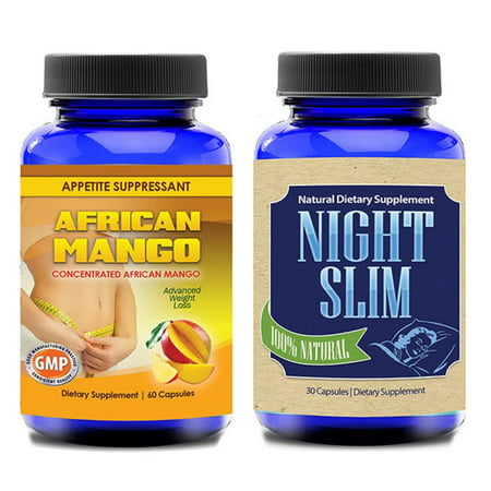 Totally Products African Mango Superfruit and Night Slim-Night Time Weight Loss Pills (60 (Best African Mango Product)