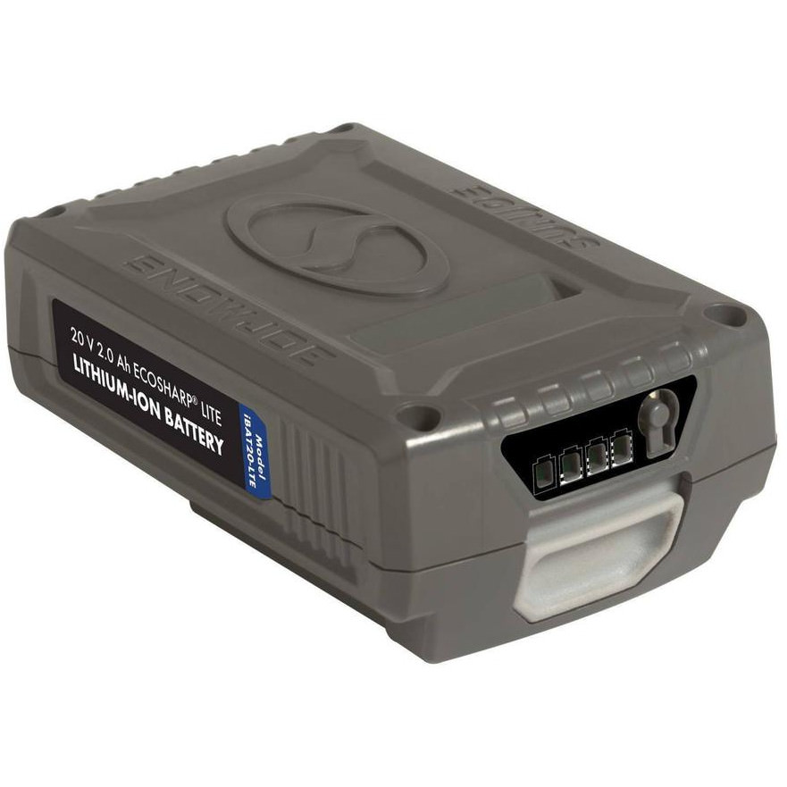 Snow Joe iBAT20-LTE EcoSharp LITE Lithium-Ion Battery | 20 Volt · 2.0 Ah
