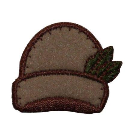 Felting Fashion (ID 7701 Felt Winter Hat Patch Stocking Cap Fashion Embroidered Iron On Applique )