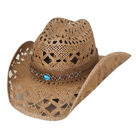 Bullhide Bean Me Up Women's Straw Cowgirl Western Hat](Cow Girl Hats)
