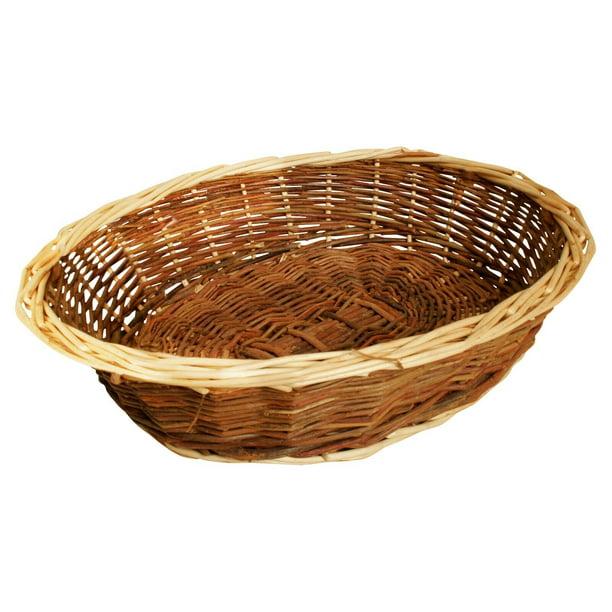 Wald Imports Brown Willow 11 Decorative Storage Basket