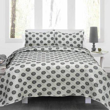 Maison Condelle Lauren Taylor Marina Quilt Set (Ralph Lauren King Quilt)