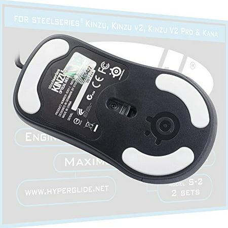 Hyperglide Mouse Skates for SteelSeries Kinzu v1, v2, v3
