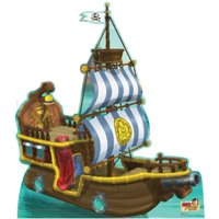 54 in. x 48 Bucky Pirate Ship