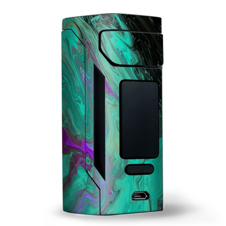 Skin Decal for Wismec Reuleaux RX2 20700 Vape / Paint Swirls Abstract Watercolor](Paint Swirls)