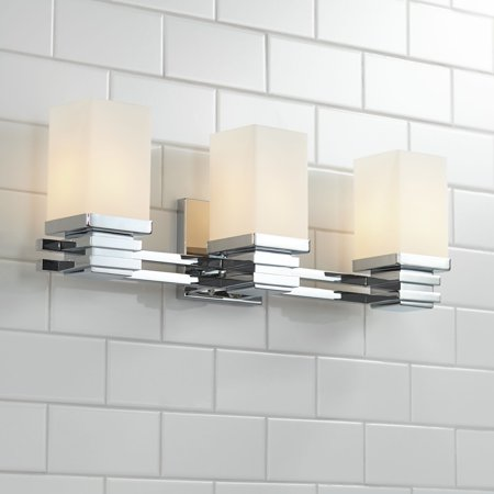 Astonishing Possini Euro Design Bennett Collection Chrome 22 Wide Bathroom Wall Light Home Interior And Landscaping Staixmapetitesourisinfo