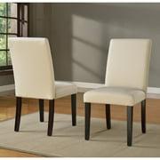 Modus Monroe Sadie Linen Parsons Dining Chair - Beige - Set of 2
