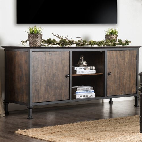 Gracie Oaks Berinda Transitional TV Stand for TVs up to 60''