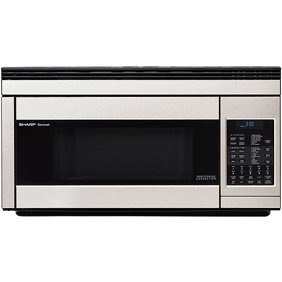 Sharp R1874t 30 Inch Wide 1 Cu Ft Over The Rang
