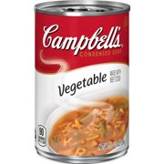 (4 pack) Campbell'sCondensed Vegetable Soup, 10.5 oz. Can