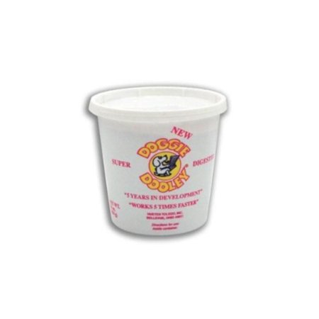 Super Dooley Digester 3 Lb Tub White, Bacteria and enzymes are used to break down dog waste By Hueter