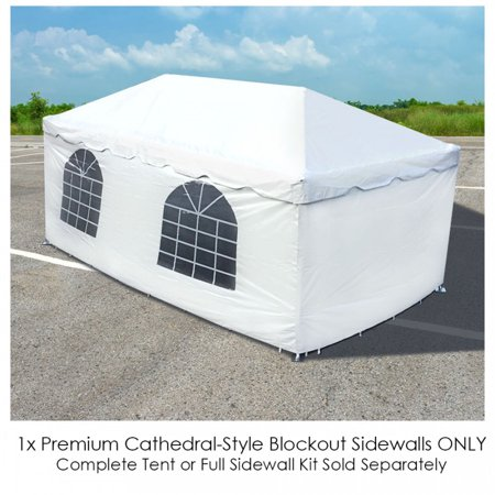 Party Tents Direct Event Tent Single Cathedral Side Wall ONLY (7x10)