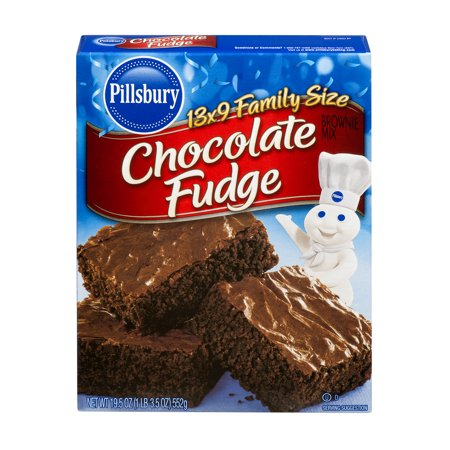 Pillsbury Chocolate Fudge Brownie Mix Reviews
