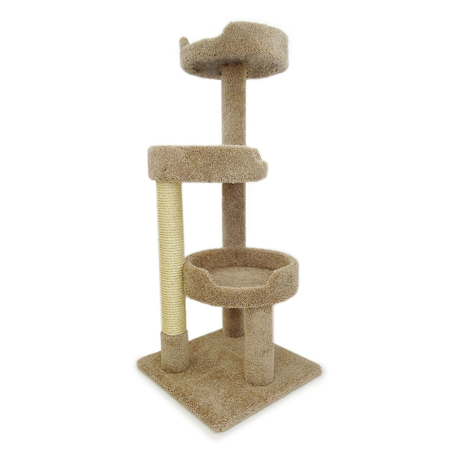 New Cat Condos Premier Kitty Pad 50 in. Cat Tree by Overstock