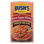 (6 Pack) Bush's Best Brown Sugar Hickory Baked Beans, 28 Oz