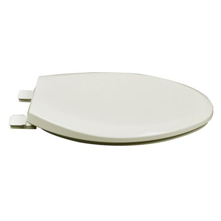 Incredible Plumbing Technologies 2F1E8 02 Slow Close Premium Plastic Elongated Toilet Seat Linen Biscuit Squirreltailoven Fun Painted Chair Ideas Images Squirreltailovenorg