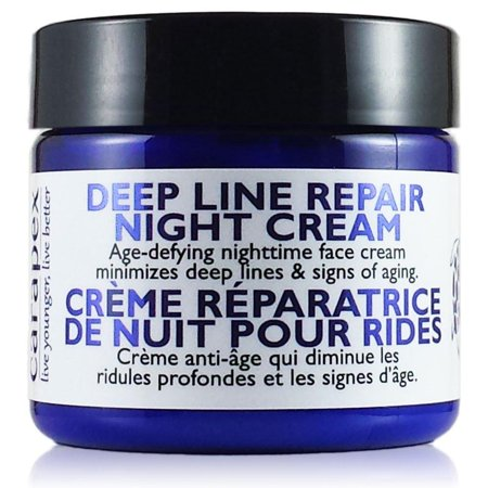Carapex Natural Anti Wrinkle Night Cream for Deep Line Repair, Fragrance Free Anti Aging Recovery Moisturizer for Sensitive, Dry, Oily and Combination Skin, Paraben Free, Cruelty Free, Unscented 2