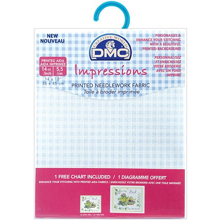DMC Impressions Aida Needlework Fabric, 14