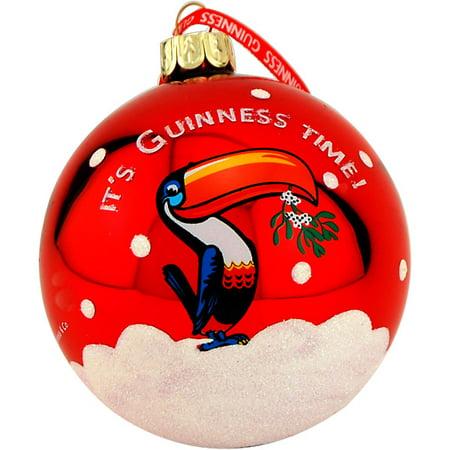 Guinness Toucan Christmas Bulb Tree Ornament - Walmart.com