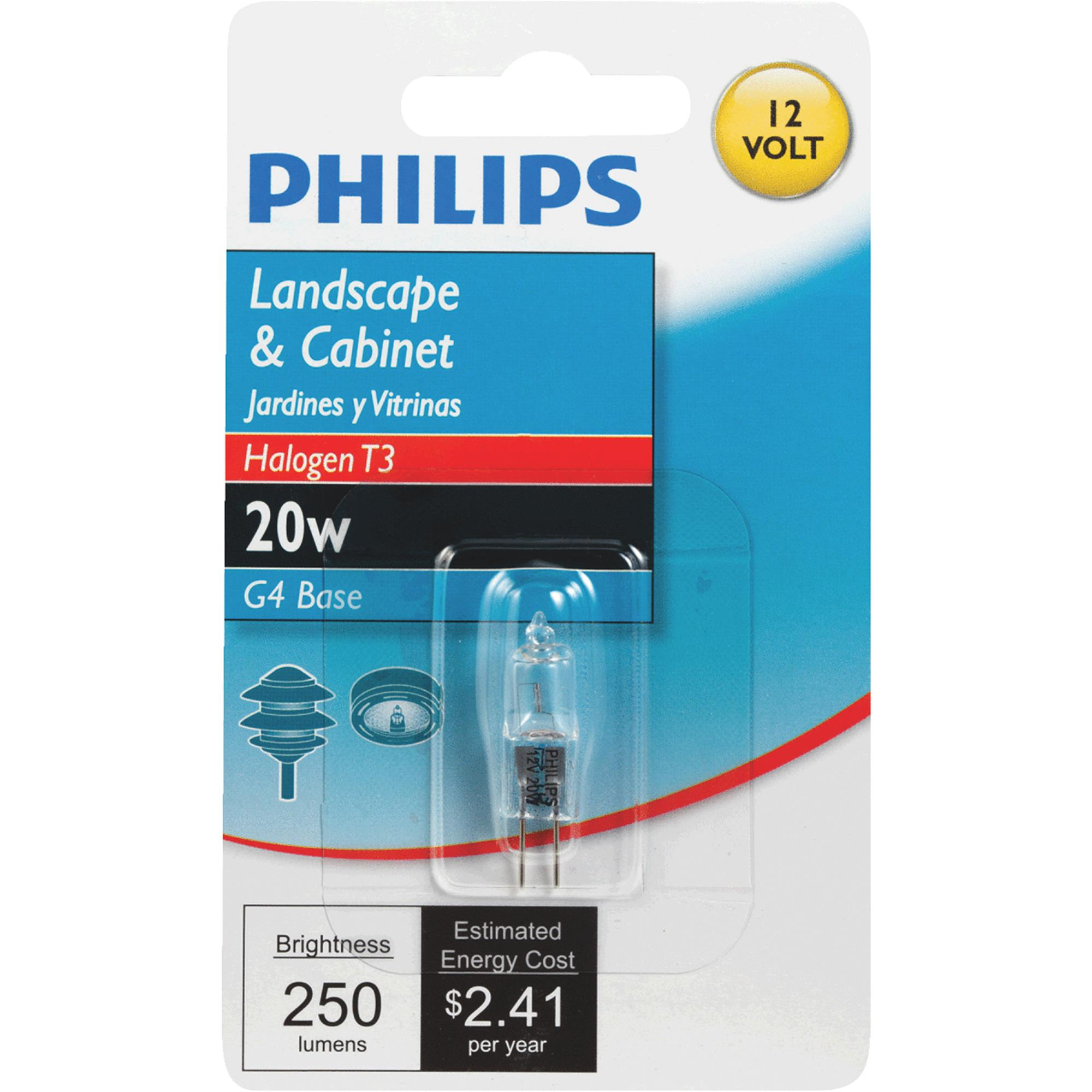 Philips T3 12V Halogen Special Purpose Light Bulb