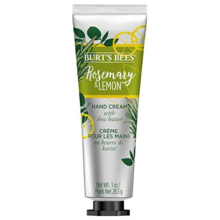 Burts Bees Hand Cream with Shea Butter, Rosemary & Lemon 1 Ounce Tube Aromatic Beauty Hand Cream