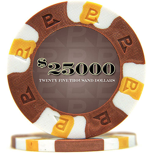 NexGEN PRO Classic Style Poker Chips, 6000 Series