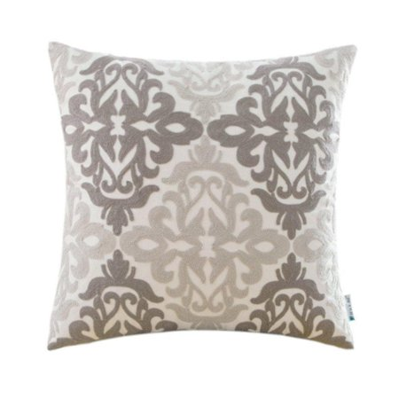 Vinyl Boutique Shop Embroidered Home Decorative Geometric Throw Pillows Cases ()