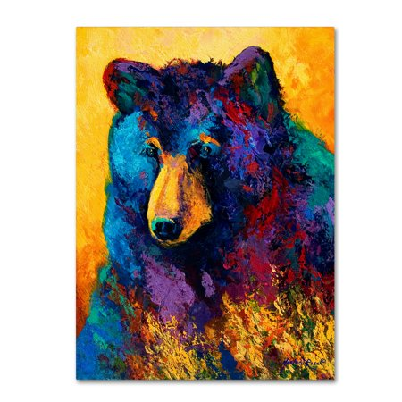 - Trademark Fine Art 'Bear Pause' Canvas Art by Marion Rose