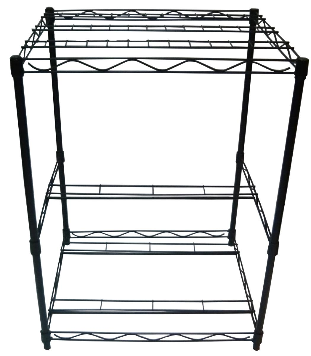 Worldwide Sourcing PS-0011 Garden Tool Rack, Black by Worldwide Sourcing