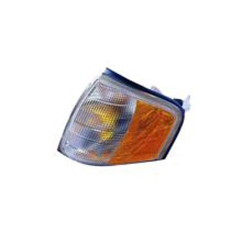 11 Replacement Cover (Compatible 1994 - 2000 Mercedes Benz C280 Parking + Signal Light Assembly / Lens Cover - Left (Driver) 202 820 11 43 MB2520101 Replacement For Mercedes-Benz)