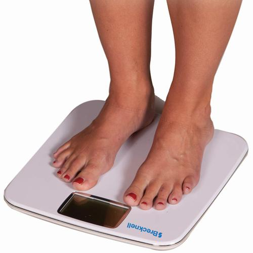 Brecknell BS-180 Bathroom Scale-180kg/396lb Capacity